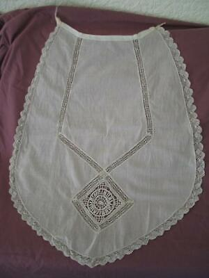Antique Lace Apron & threadwork