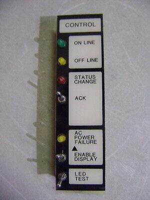 SIMPLEX FIRE ALARM CONTROLLER BOARD 562-210 CONTROL INTERFACE MODULE SWITCH LED Alarm Control Interface