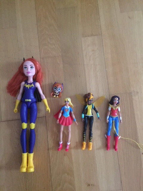 DC Super Hero Girls dolls, Littlest Pet Shop figures