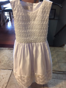 Girls size 8 First Communion Dress and shoes