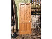 9 Solid pine doors size varies slightly