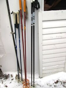 Cross Country skiing poles