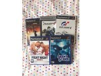 PS2 games - selection of 5 Playstation 2 games