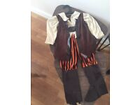 Kids Halloween Pirate Costumes - Will fit 4 to 5 year old