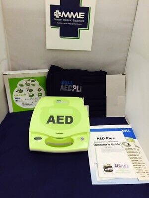 Zoll Aed Plus Aed Factory Recertified New Pads New Batteries 6 Yr Warranty