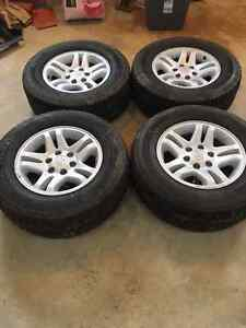 265/65R17 Studded Tires/rims for Toyota 4x4