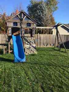 Kids Playground Swing Set with Slide London Ontario image 2