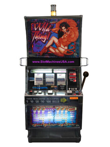 IGT Wild Thing Slot Machine For Sale