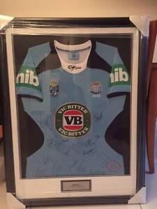 2013 Signed, Framed and Authenticated NSW State of Origin Jersey Parramatta Parramatta Area Preview
