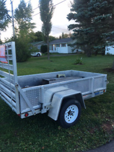 Swap -Aluminum trailer for a 6 ft 10 ft or larger