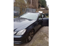 Mercedes Benz E220 2.1 CDI BlueEfficiency S/S Saloon SE very low mileage great condition