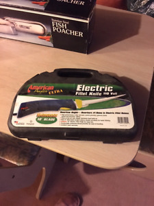 Never used electric fillet knife