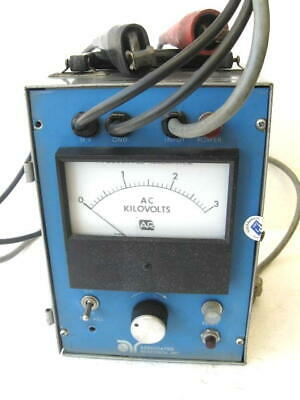 Associated Research Model 4025 Ac Hypot Junior Volt Meter Voltmeter