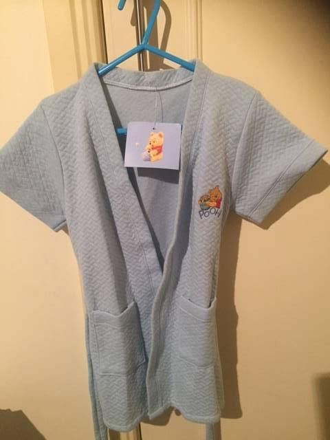 8d9ba2fa5c Disney Winnie the Pooh Dressing Gown - New with tags!