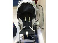 Maclaren Globetrotter Pushchairs (Black/White)