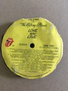 Rolling Stones Pre Pressed Album