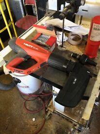 HILTI DX460 nail gun powder cartridge Millennium dome heist