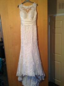 Beautiful Justin Alexander 8596 Wedding Dress