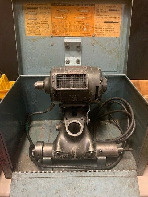Dumore Tool Post Grinder - 1/2 HP (with box and attachments)