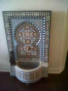 Gorgeous Moroccan Fountain! Fontaine marocaine exceptionnelle!