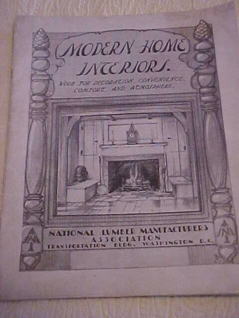 1929 Modern Home Interiors Building Plans for Cabinets Tables Wardrobes
