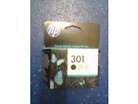 Original HP 301 Black Ink Cartridges (3)