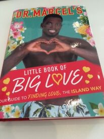 LOVE ISLAND Dr Marcel Big Love Book. Perfect for Love Island Fans for xmas.