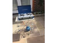 URGENT Gampingaz Stove and Folding Stand £30 ono