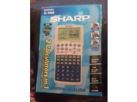Graphing calculator - ideal for A-Levels