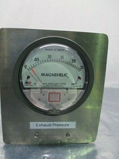 Dwyer W27AE NM Magnehelic Pressure Gauge Assy, 15 PSIG, 453813