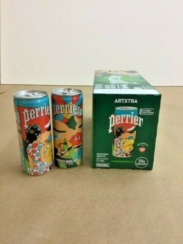Dabs Myler Perrier Box of 10  Cans - New and  Unopened