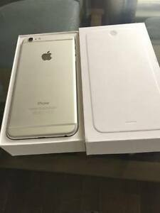 I PHONE 6 PLUS  FACTORY UN LOCKED SILVER 16 gig