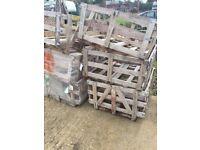 hardwood wooden crates