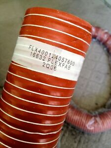 HIGH-TEMP-SILICON-VENTILATION-DUCT-EXHAUST-HOSE-3in-X-12ft-550-deg