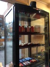 Display chiller for drinks cakes and snacks