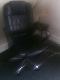 Office Leather chair as new
