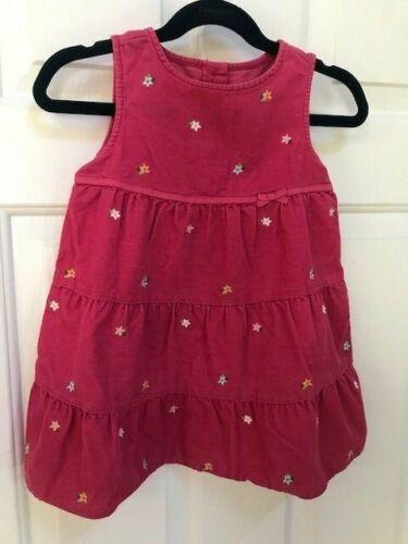 GYMBOREE VALENTINE Baby Girls Corduroy Dress JUMPER 18-24M