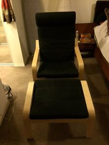 Ikea Rocking chair and Footstool set