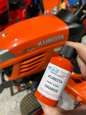 KUBOTA COMPACT TRACTOR MINI DIGGER ORANGE TOUCH UP PAINT BX2200 BS2530 KX61, gebruikt tweedehands  verschepen naar Netherlands