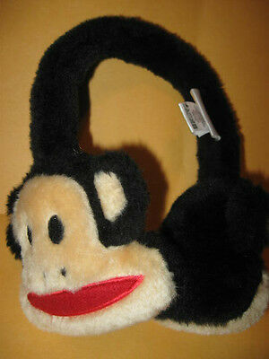 Paul Frank MONKEY EARMUFFS ear muffs earwarmers EXCELLENT  for sale  San Antonio