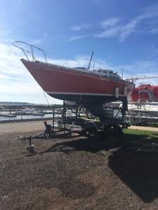 C&C 25 foot sailboat SWAP for dual sport Street trail