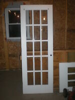 Solid Wooden French Doors