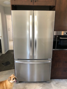 "Whirlpool 36"" Counter Depth Fridge"