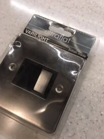New stainless steel switch with fuse