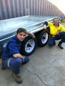Tandem galvanized Box trailers IN STOCK Taylors Trailers Cairns
