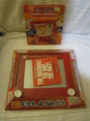 Ohio Art Classic Etch A Sketch Magic Screen 505 w/Games Puzzle SEALED NEW Lionel