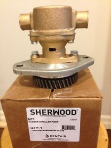 NEW SHERWOOD M71 SEA WATER PUMP FOR CUMMINS 6BT 210 MARINE