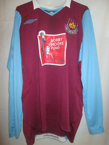 West-Ham-United-2008-2009-Home-Football-Shirt-Size-Large-15292