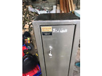 Gun cabinet for sale, great condition, dual locks, Gun Cabinet or Safe