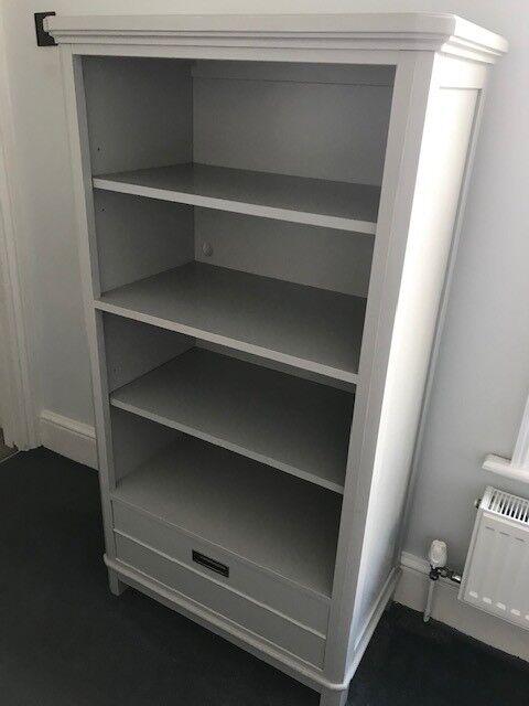 High End Dove Grey Bedroom Furniture Bookshelf Dresser And Nightstand